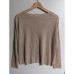 Eileen Fisher   Linen crewneck sweater